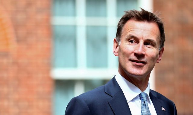 Jeremy Hunt: New maritime protection mission after UK-flagged tanker seized in Gulf