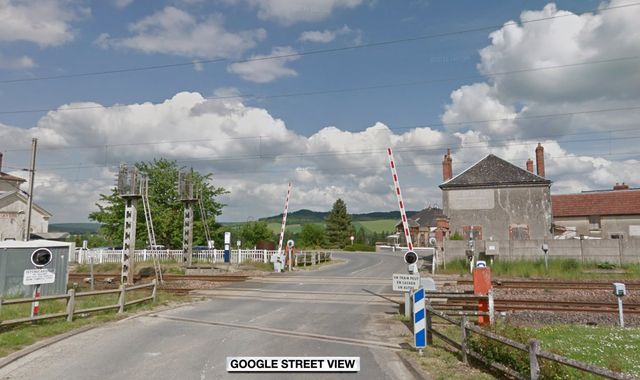 Woman and three children killed as car and train collide at level crossing in France