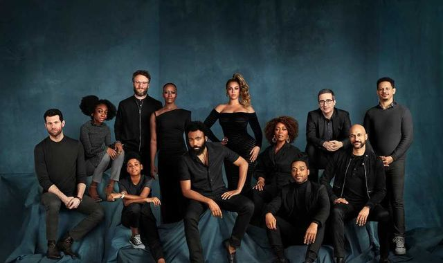 John Oliver: 'Yes, Beyonce was photoshopped into Lion King cast photo'