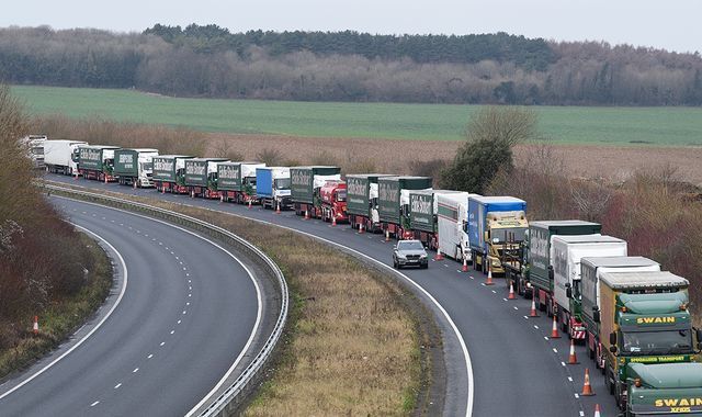 UK faces food, fuel and drugs shortages in no-deal Brexit - report