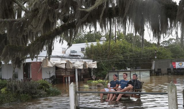 Relief in New Orleans but authorities warn Storm Barry is not over yet