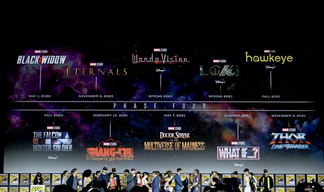 Eternals, Blade, Black Widow: The new films revealed by Marvel