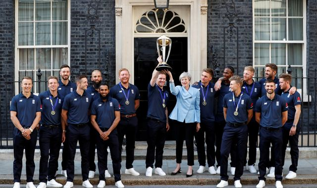 PM hails England's World Cup as 'one of great sporting spectacles of our time'