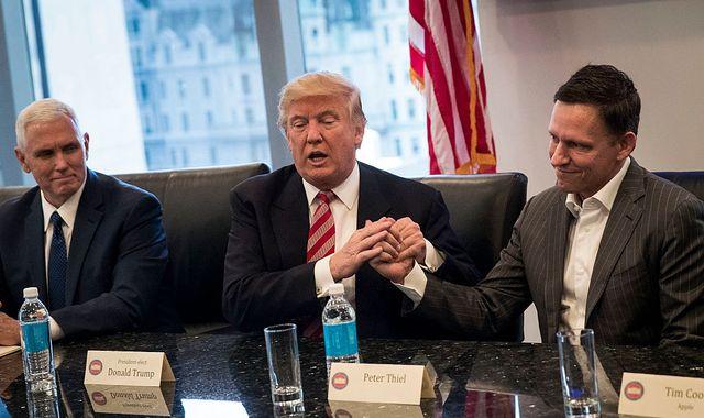 Tech billionaire Peter Thiel urges investigation into 'seemingly treasonous' Google