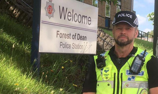 Gloucestershire Police ditch helmets for caps - but not everyone's a fan