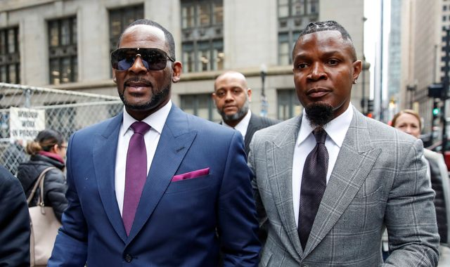 R Kelly's publicist quits after saying he would not leave daughter with 'accused paedophile'