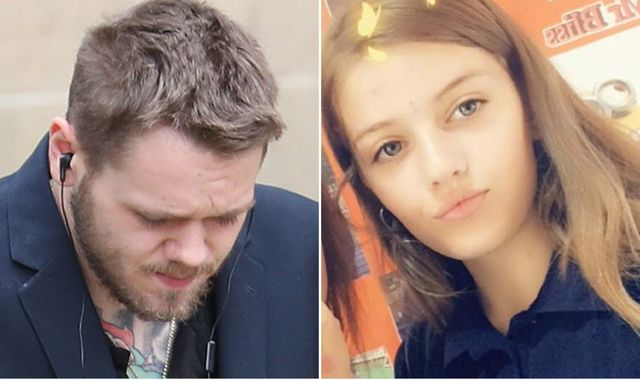 Stepfather of murdered schoolgirl Lucy McHugh 'attacked by two men and called paedophile'