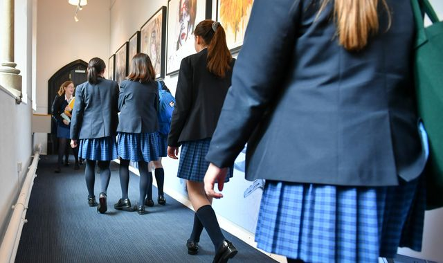 Calls for schools to make uniforms more affordable by dropping logo