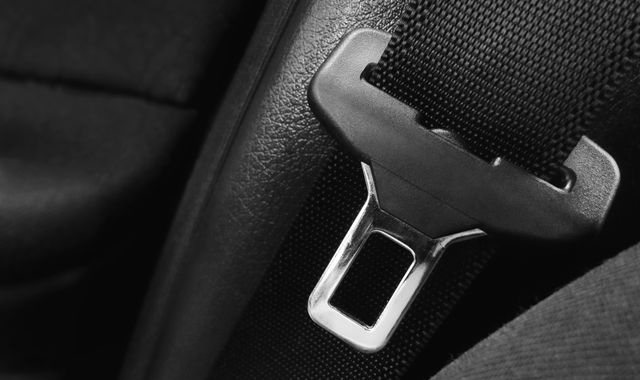 Drivers face penalty points if they are caught without a seat belt
