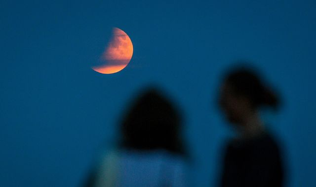 Partial lunar eclipse: Moon's tribute 50 years after historic Apollo 11 launch