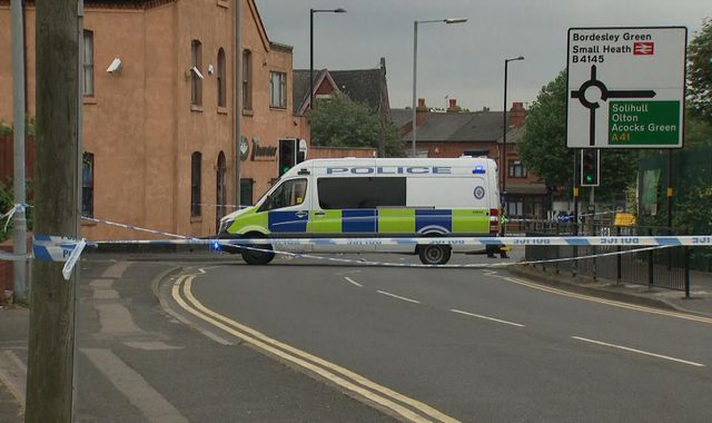 Murder inquiry after man stabbed to death in Birmingham in 'targeted' attack