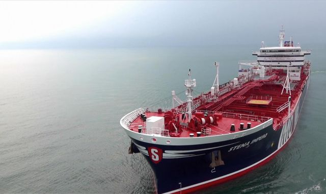 'Alter your course': Audio of moment Iranians warn UK-flagged tanker Stena Impero before seizure
