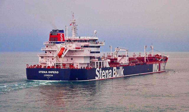 Iran 'seizes British-flagged oil tanker' in Strait of Hormuz