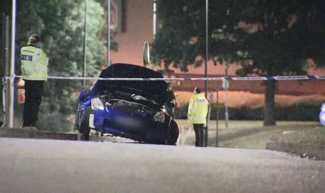 Stevenage car meet cancelled after crash, organiser says