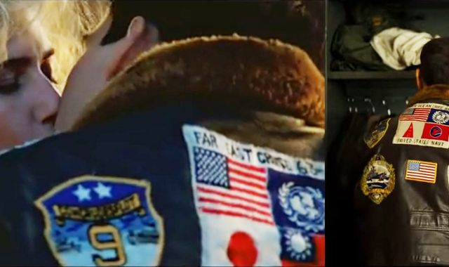 Top Gun sequel: Japan and Taiwan flags replaced on famous Tom Cruise jacket for new film