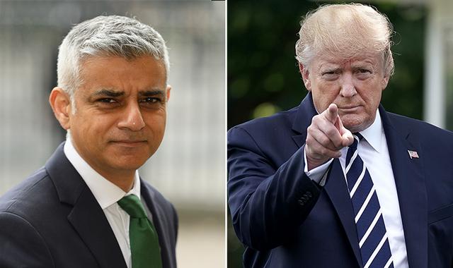 Donald Trump 'blames' Sadiq Khan for Metropolitan Police Twitter hack