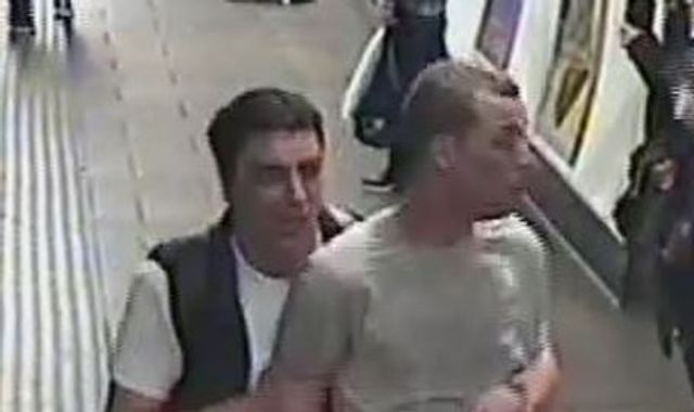 'CS gas' released on London Underground as police search for two men