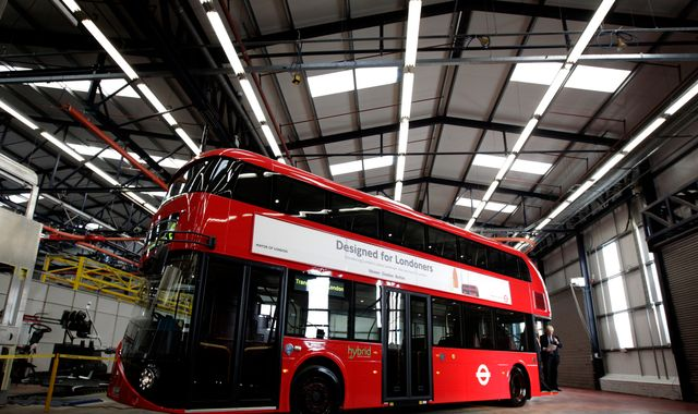 1,400 jobs at risk as 'Boris bus' maker holds rescue talks