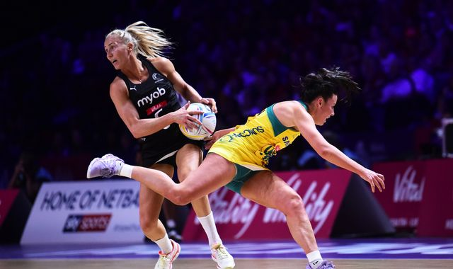 New Zealand beat Australia 52-51 to win Vitality Netball World Cup