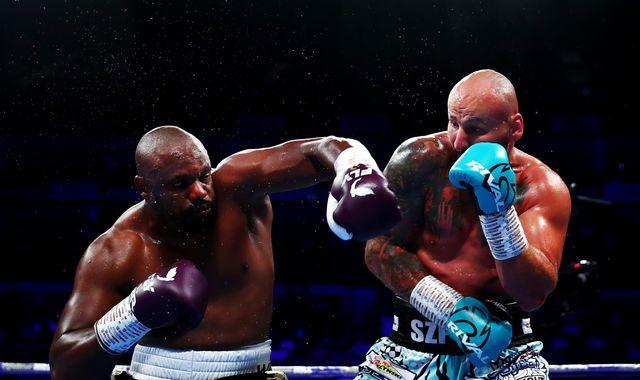 Whyte vs Rivas: Derek Chisora scores brutal second-round knockout of Artur Szpilka