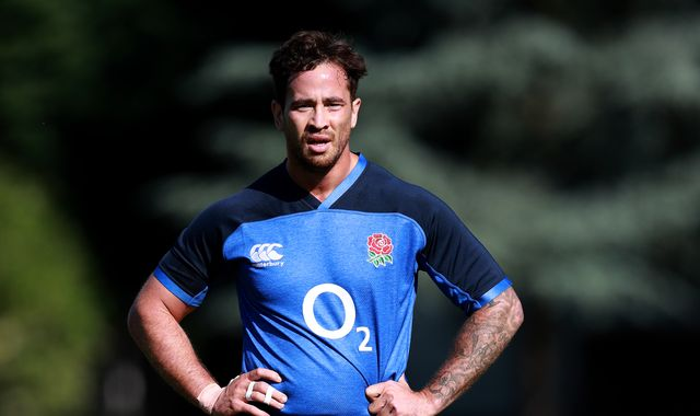 Danny Cipriani left out of England Rugby World Cup camp