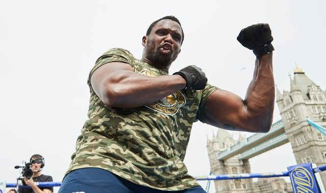 Whyte vs Rivas: Heavyweight world including Deontay Wilder and Tyson Fury watching Dillian Whyte