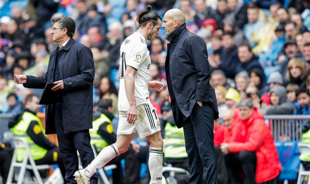 Zinedine Zidane says Gareth Bale refused to play for Real Madrid