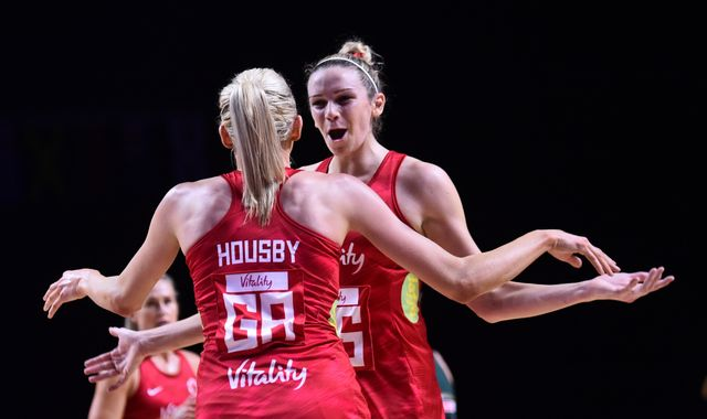 Vitality Netball World Cup: England beat South Africa to confirm New Zealand semi-final