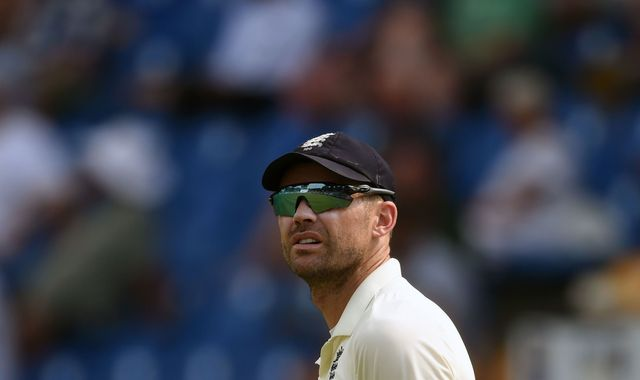 England's James Anderson to miss Ireland Test ahead of Ashes series