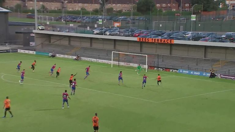 Highlights of Palace's 6-2 pre-season defeat at Barnet on Tuesday night