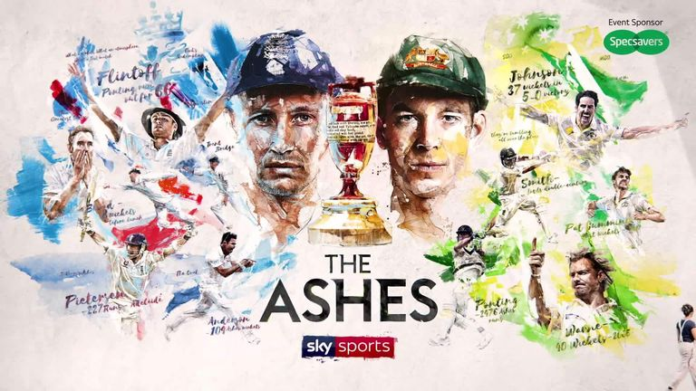 Ashes TV schedule on Sky Sports: How to watch every ball of