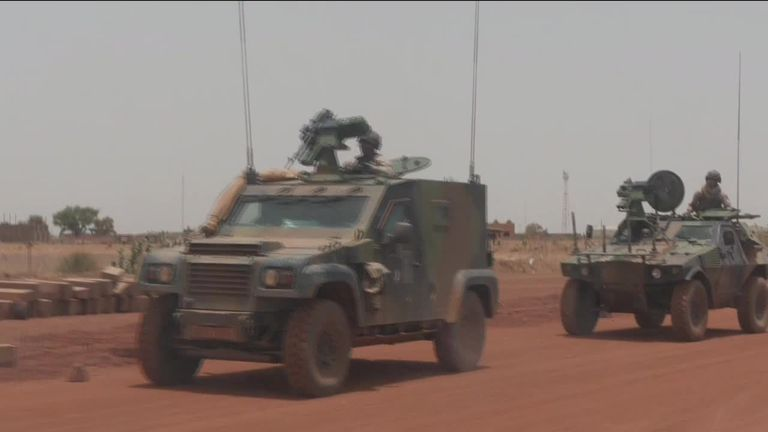 UK troops to be sent to Mali