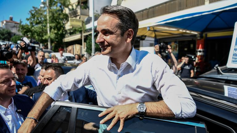 Greek PM concedes defeat in country's general election