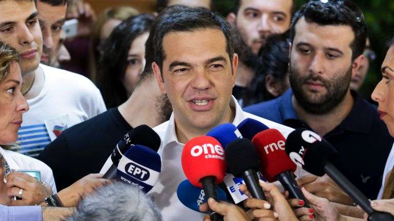 Greek conservatives set to win general election - exit polls