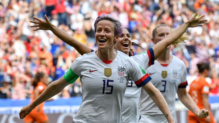 'They made history': USA beat Netherlands to win Women's World Cup