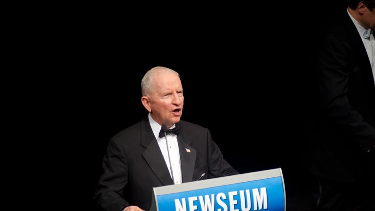 WASHINGTON, DC - MAY 14: Ross Perot attends the 6th annual GI Film Festival red carpet gala at The Newseum on May 14, 2012 in Washington, DC. (Photo by Kris Connor/Getty Images)