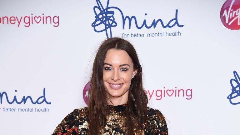 LONDON, ENGLAND - NOVEMBER 29:  Emily Hartridge attends the Virgin Money Giving Mind Media Awards 2018 at Queen Elizabeth Hall on November 29, 2018 in London, England.  (Photo by Karwai Tang/WireImage)
