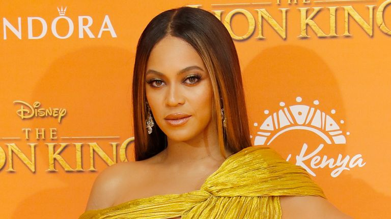 "LONDON, ENGLAND - JULY 14: Beyonce Knowles-Carter attends the European Premiere of ""The Lion King"" at Odeon Luxe Leicester Square on July 14, 2019 in London, England. (Photo by David M. Benett/Dave Benett/WireImage)"