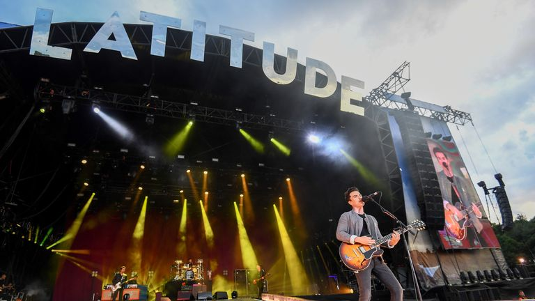 SOUTHWOLD, ENGLAND - JULY 20: Kelly Jones of the Stereophonics performs on stage during Latitude Festival 2019 at Henham Park on July 20, 2019 in Southwold, England. (Photo by Dave J Hogan/Getty Images)