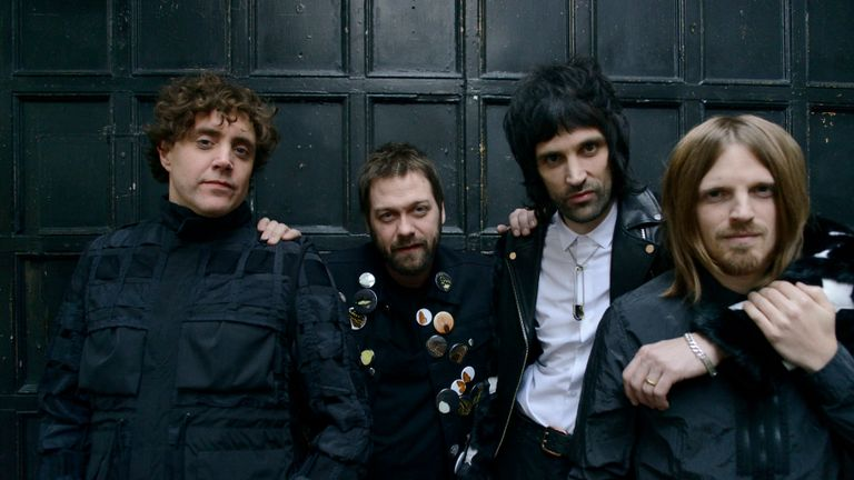 Kasabian. Pic: Phil Knott