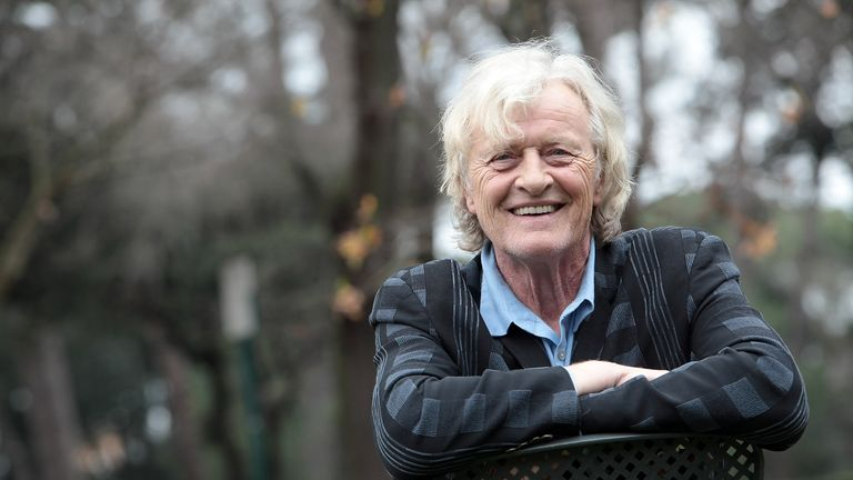 ROME, ITALY - JANUARY 23:  Actor Rutger Hauer attends 'Sights Of Death' photocall al Villa Borghese on January 23, 2014 in Rome, Italy.  (Photo by Elisabetta A. Villa/Getty Images)