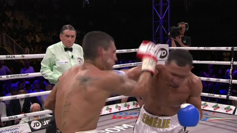 Marcus Morrison revives career with dramatic knockout win over Emanuele Blandamura  | Boxing News |