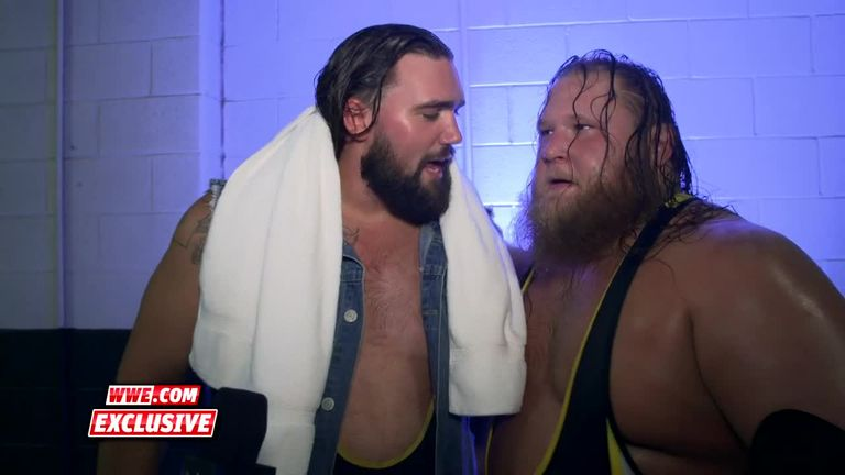 Heavy Machinery are ready to take the SmackDown tag-team titles at Extreme Rules