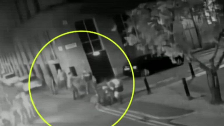 Shocking footage shows teenage girl knocked unconscious in assault on night out