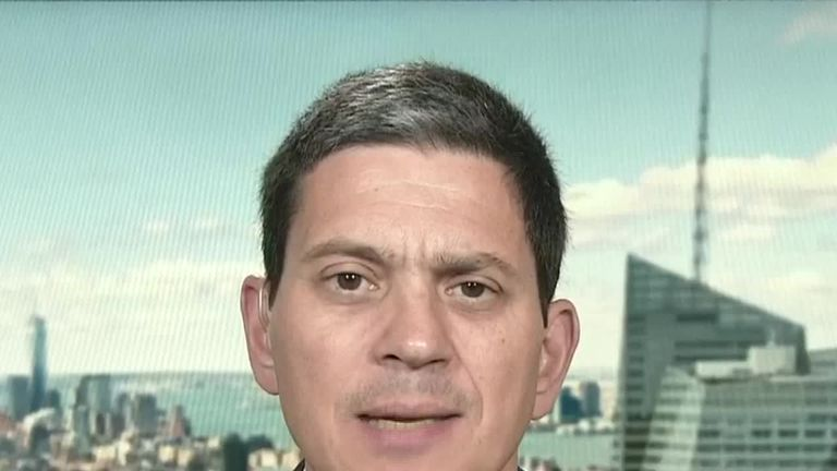 Former shadow foreign secretary David Miliband said Johnson was 'spineless' over his refusal to back Kim Darroch's ambassadorship