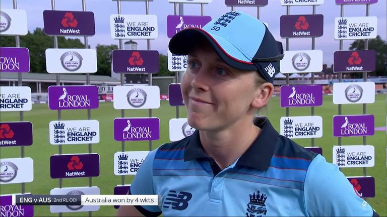 Heather Knight wants England to sharpen up their batting after slipping to a second straight defeat to Australia in the Women's Ashes.