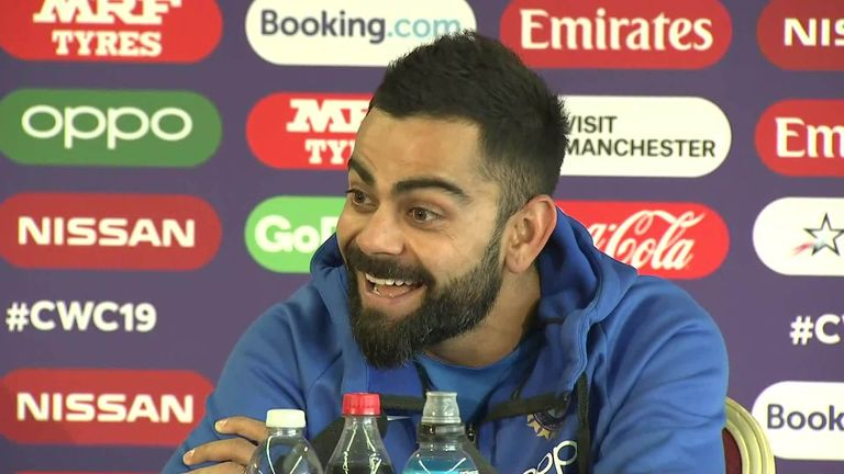 1:21                                            India captain Virat Kohli looks back on his first meeting with New Zealand skipper Kane Williamson at Under-19 level 11