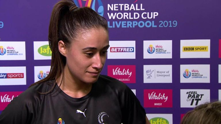 Maria Folau believes that the Silver Ferns have taken a step forward after beating Malawi in their tournament opener