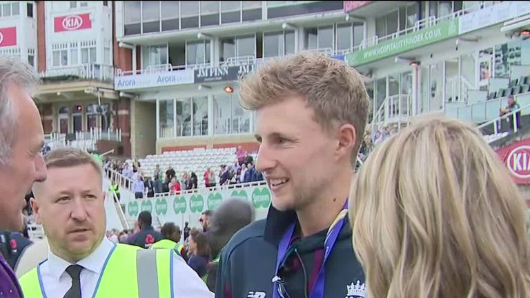 Joe Root 'A great way to inspire a nation'
