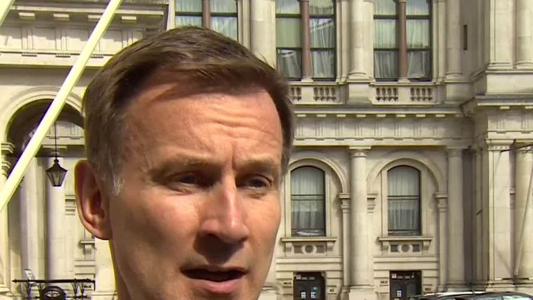 Foreign secretary Jeremy Hunt MP has been in a Cobra meeting discussing what 'further measures' will be taken